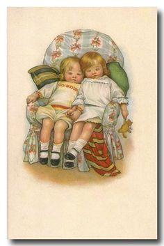 Children Vintage Cards
