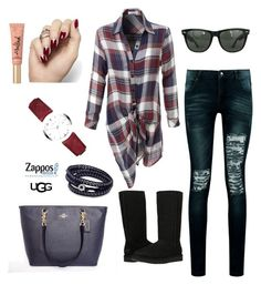 Designer Clothes, Shoes & Bags for Women Too Faced Cosmetics, Ugg Australia, Boohoo, Uggs, Burberry, Ray Bans, Challenges, Shoe Bag, Polyvore