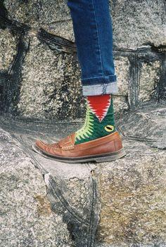 Killer socks.