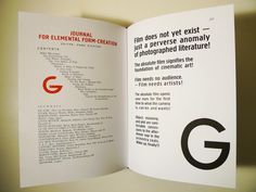 G: An Avant-Garde Journal of Art, Architecture, Design, and Film, 1923–1926