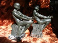 ART DECO NUDE FRENCH FRANCE BRONZE? BY MAX LE VERRIER