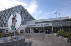 Il nuovo ingresso del San Gerardo