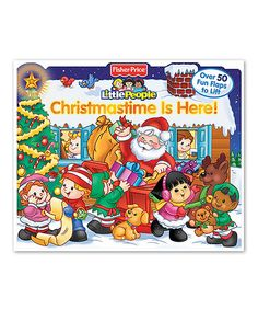 This Christmastime Is Here Board Book is perfect! #zulilyfinds