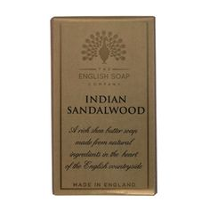 Indian Sandalwood Soap by THE ENGLISH SOAP COMPANY