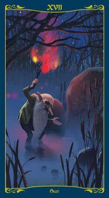 The Star - Tarot of the Celtic Fairies Best Tarot Decks, Tarot Card Decks, Tarot Cards, Major Arcana Cards, Tarot Major Arcana, Star Tarot, Tarot Prediction, Tarot Readers, Oracle Cards