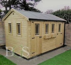 Cottage Garden Shed - Pressure Treated