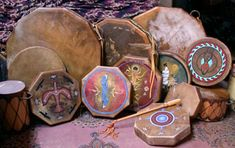 Native American Drums - Taos, New Mexico