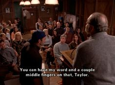 You can have my word and a couple middle fingers on that, Taylor.