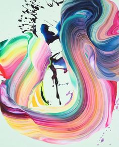 Created by the incredibly talented artist Yago Hortal, a mix of colours in a fluid motion, the depth and flow created through this allows a sense of contemporary art mixed with Hortal's culture into one!
