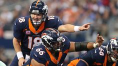 The Denver Broncos will don their all-blue alternate jerseys against the San Francisco 49ers on Sunday Night Football, October 19, 2014 (navy tops and bottoms), a callback to their throwbacks during the Super Bowl years.