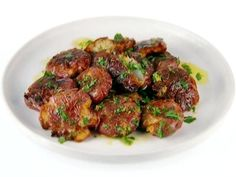 Get Fried Smashed Potatoes with Lemons Recipe from Food Network