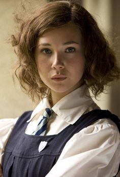 """Juno Temple as 'Di Radfield' in """"Cracks"""" Visually stunning film. A must see film. (Ok, it's that Schoolgirl look). Her Cut, Cut Her Hair, Cracks Film, Ethereal Makeup, Juno Temple, See Movie, British Actresses, British Style, Beautiful Actresses"""