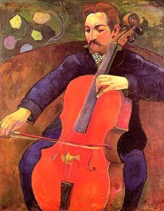 Paul Gauguin The Cellist painting is shipped worldwide,including stretched canvas and framed art.This Paul Gauguin The Cellist painting is available at custom size. Paul Gauguin, Henri Matisse, Andre Derain, Paul Cézanne, Impressionist Artists, Pics Art, Modigliani, Oil Painting Reproductions, Georges Braque