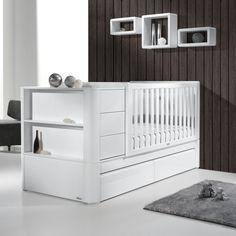 Minimalmaxi, ein modulares Kinderbett. Ein Bett 4-in-1 von 0-9, das ...