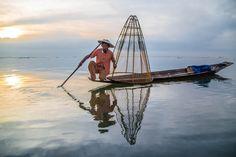 Fishing in Burma