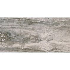 MS International Bernini Carbone 12 in. x 24 in. Glazed Porcelain Floor and Wall Tile (16 sq. ft. / case), Gray