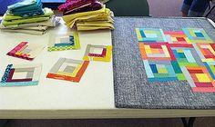 Cincinnati Modern Quilt Guild ~ Improv Piecing by Fresh Lemons : Faith, via Flickr