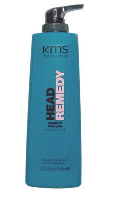 KMS California Head Remedy Dandruff Shampoo 25.3 oz / 750 ml    A gentle shampoo that controls dandruff and flaking for a healthy scalp.  All hair types with dandruff.    Rosemary and Fennel This combination found in the headremedy Dandruff Shampoo helps to soothe itching and provides anti-bacterial benefits to the scalp. You'll get Flake-free scalp and hair