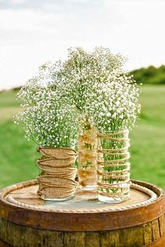 babys breath wedding 4