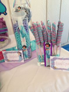 Items similar to Arabian Princess Jasmine inspired birthday collection on Etsy Aladdin Birthday Party, Aladdin Party, Birthday Fun, First Birthday Parties, Birthday Party Themes, Birthday Ideas, Jasmin Party, Aladdin Princess Jasmine, Disney Princess Party