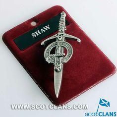 Shaw Clan Crest Kilt
