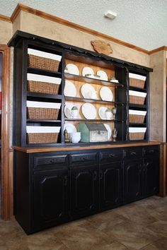 like this idea for old hutch,, wld b super cute as a tv stand