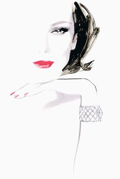 New fashion illustration sketches inspiration david downton 67 Ideas Illustration Mode, Fashion Illustration Sketches, Fashion Sketches, Art Sketches, Art Drawings, Dress Sketches, Drawing Fashion, Design Illustrations, Drawing Faces