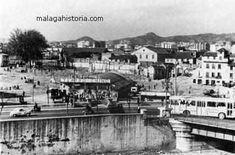 Fotos de Ëpoca de Málaga Paris Skyline, Street View, Travel, Good Night Greetings, Vintage Photos, Antigua, Souvenirs, City, Historia
