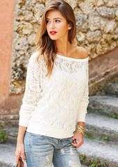 Gwen Lace Top Was: $24.90 Now: $19.90 alloy.com