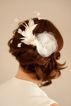 Bridal hair accessory blush pink fascinator wedding head piece accessories bridal comb bridal fascinator bridal head piece comb feather fascinator junglespirit Image collections