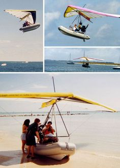 Smokin' on the water… that's how hot these canoes, kayaks and boats are! It's amazing what a little tech know-how and a vivid imagination can do when whipping up wild waterc…