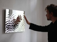 Water sculpture chromed polyurethan or polished aluminium 60 x 40 cm edition of 49 each © 2010 Fredrik Skåtar  Shapes of water are constantly generated all around us, too fast for the human e…