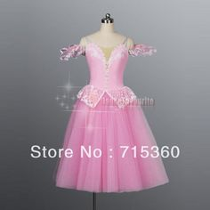 Hot Sell! Pink Long Tutus, Adult Top-quality Romantic tutu for performance BL-072