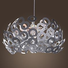 Modern Pendant Light in Circle Featured Lampshade - USD $ 139.99