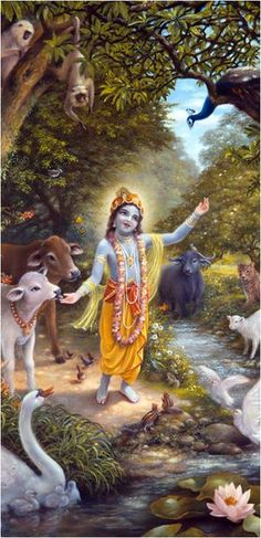 Killing the Demon Pralambāsura – Devoto Hare Krishna Krishna Lila, Cute Krishna, Jai Shree Krishna, Krishna Radha, Hare Krishna Mantra, Lord Krishna Images, Radha Krishna Pictures, Krishna Avatar, Krishna Painting
