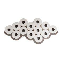 Lyon Beton - Concrete Cloud - Toilet Paper Shelf - Large