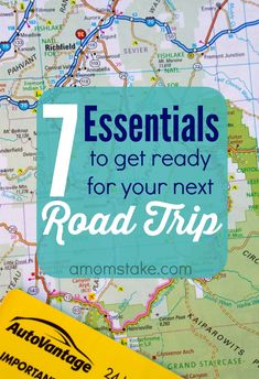 What you will need to help you get ready for your next road trip and travel adventures! AD