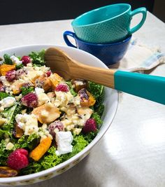22. Kale Butternut Squash Salad #greatist http://greatist.com/eat/healthy-recipes-that-make-healthy-eating-easy