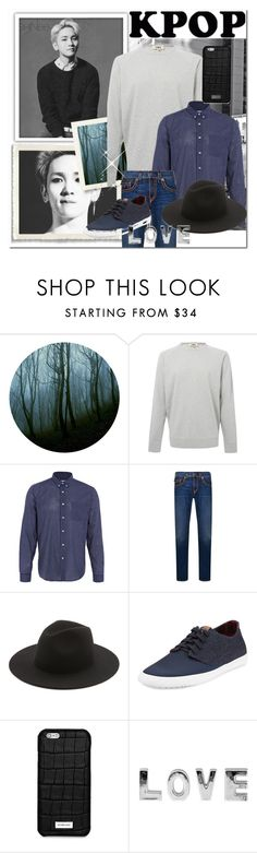 """Key #2 <3"" by odesigns ❤ liked on Polyvore featuring YMC, AMI, True Religion, Études, Ben Sherman, Michael Kors, men's fashion, menswear, kpop and shinee"