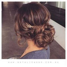Grecian Updo--definitely possibility for Colin and Caitlin's wedding!