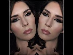 Mandy-Lee Christmas evening makeup tutorial - YouTube