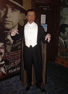 Bela legosi as Dracula,Madame Tussaud's wax museum
