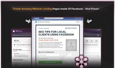 FB Webinar Pro - Create high converting webinar landing pages with this BRAND NEW WordPress Plugin! Works without Facebook too!