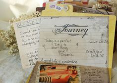 create a journal crate to capture the moments of a trip, adventure or just a moment - 7gypsies American Vintage Travel Scrapbook, Creative Studio, Atc