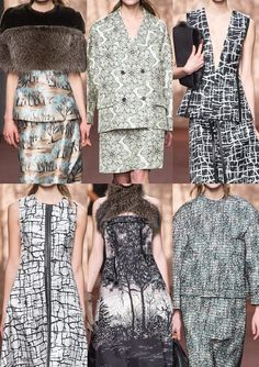 Milan Fashion Week   Autumn/Winter 2013/14   Print & Pattern Highlights   Part 2 catwalks