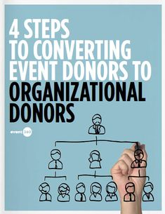 How To Convert Event Donors Into Organizational Donors -- Free downloadable whitepaper from Event360.com