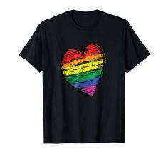 Heart of LGBT t-shirt Lgbt T Shirts, Branded T Shirts, Gay Pride, Transgender, Lesbian, Fashion Brands, Topshop, Mens Tops, Clothes