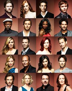 True Blood Crew! I wish the action had stayed more not the soap stuff. Last season great so far tho. But why Alcide why!!!