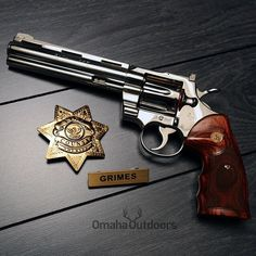 Since The Walking Dead premiered last night, here's a 1975 Colt Python. Survival Weapons, Weapons Guns, Guns And Ammo, Survival Gear, Tactical Survival, 357 Magnum, Rifles, The Walking Dead, Revolver Pistol