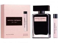 Narciso Rodriguez Kit Narciso Rodriguez For Her - Perfume Feminino Eau de Toilette 50ml + Roll On
